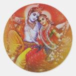Radha Krishna Sticker