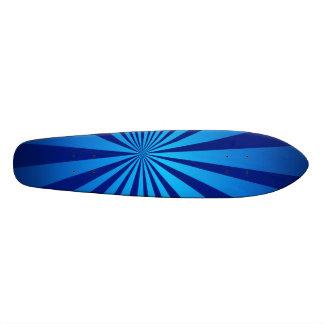 Radial blue skateboards
