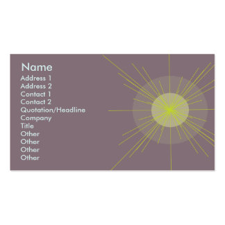 Radial - Business Pack Of Standard Business Cards