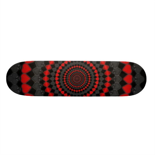 Radial Card Suits: Skateboard