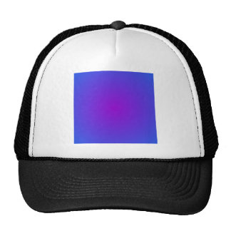 Radial Gradient - Blue and Violet Hat