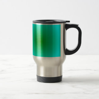 Radial Gradient - Cyan and Green Mug
