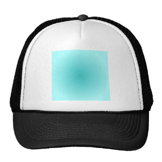 Radial Gradient - Light Cyan and Turquoise Cap