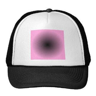 Radial Gradient - Pink and Black Cap