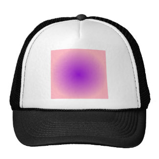 Radial Gradient - Pink and Violet Hat