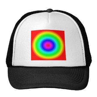 Radial Gradient - Rainbow Cap