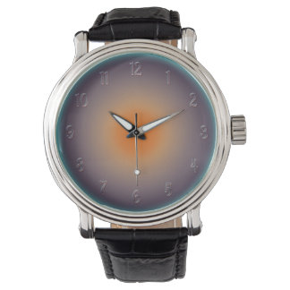 Radial Sunset with Illuminated Effect Watch