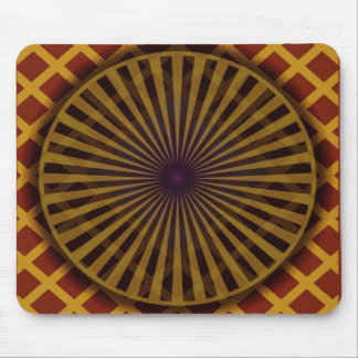 radial trance mouse pad