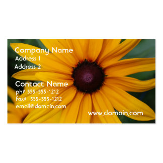 Radiant Black Eyed Susan Business Card Templates