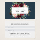 Radiant Bloom Referral Business Card