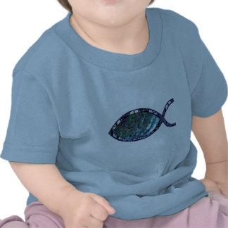 Radiant Christian Fish Symbol T-shirt
