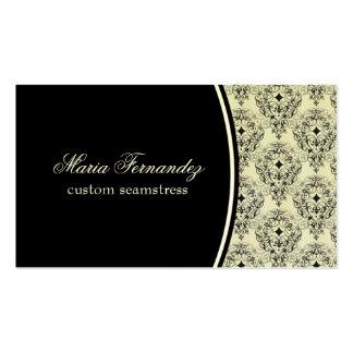 Radiant Glam Business Card, Black Pack Of Standard Business Cards