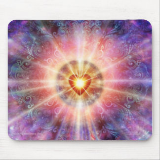 Radiant Heart Mouse Pad