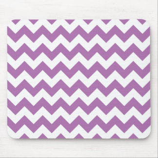 Radiant Orchid Chevron Zigzag Mouse Pad
