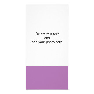Radiant Orchid High End Solid Color Photo Card Template