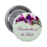 Radiant Orchid Painting 6 Cm Round Badge