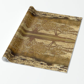 Radiant Reflections Wrapping Paper