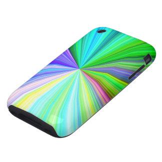 "Radiant Spectrum ""Blue Noise"" iPhone 3 Tough Cover"