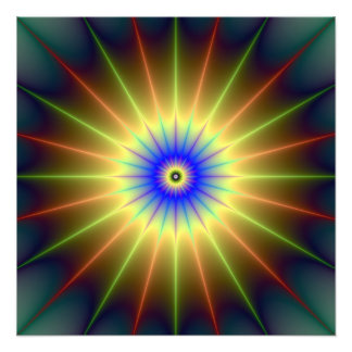 Radiant Star Photo Print