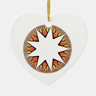 Radiant Sun Star Christmas Ornament