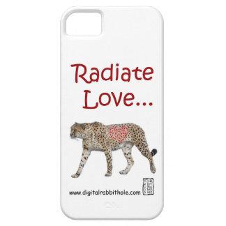 Radiate Love... iPhone 5 Cases