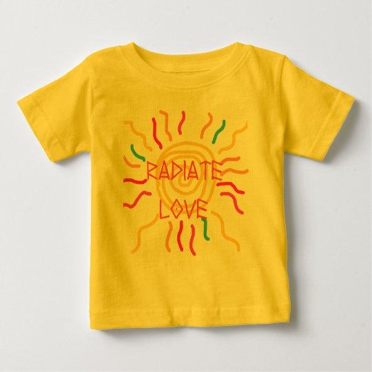 Radiate Love Sun Baby T-Shirt