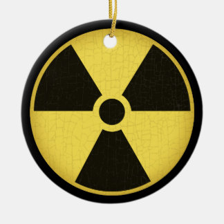 Radiation 1 christmas ornament