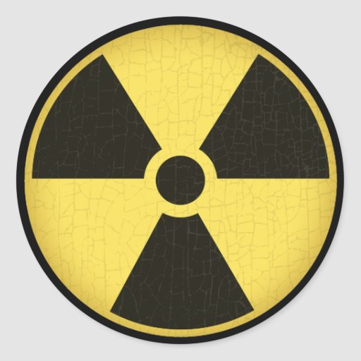Radiation 1 stickers