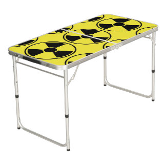 RADIATION BEER PONG TABLE