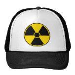 Radiation Hazard Sign Cap