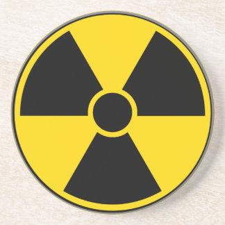 Radiation Hazard Sign Coaster