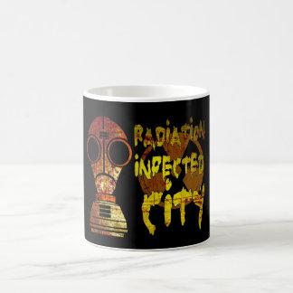 Radiation infected city (Low) Basic White Mug