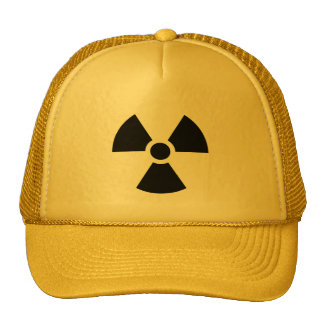 Radiation Sign Cap