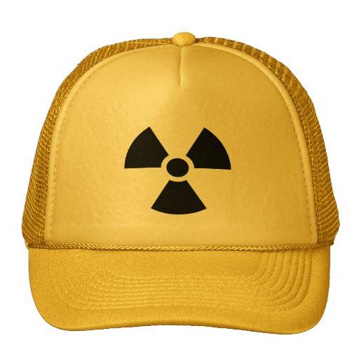 Radiation Sign Mesh Hat