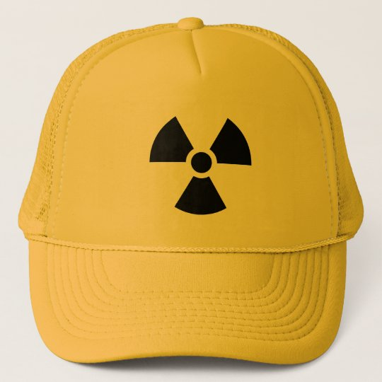 Radiation Sign Trucker Hat