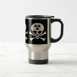 Radiation Skull & Crossbones Mug