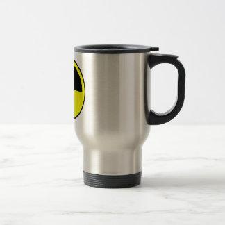Radiation Symbol Stainless Steel Travel Mug