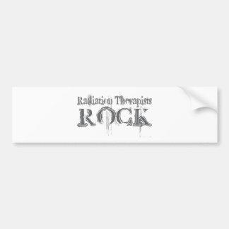 Radiation Therapists Rock Bumper Sticker