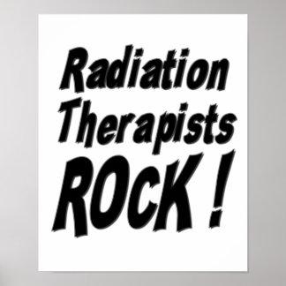 Radiation Therapists Rock! Poster Print