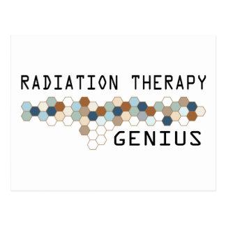 Radiation Therapy Genius Postcard