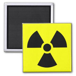 Radiation Trefoil Sign Symbol Warning Sign Symbol Magnet