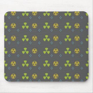 Radiation Warning Mouse Pad