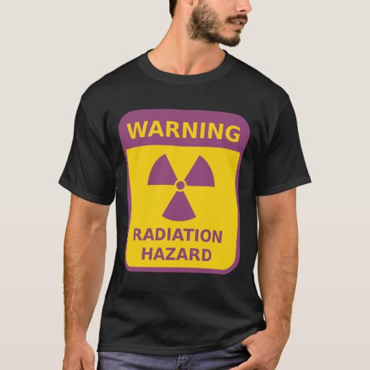 Radiation Warning Sign T-Shirt