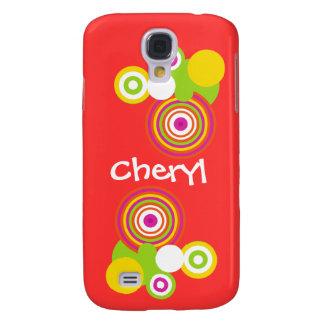 Radical Circles Samsung Galaxy S4 Cover