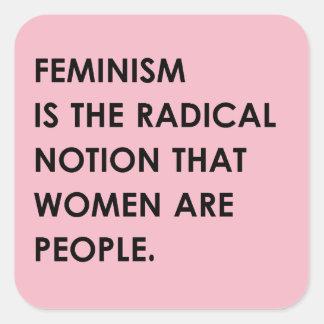 Radical Notion Square Sticker