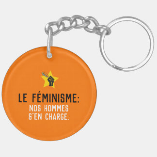 Radical Quebec feminism humour French satire Key Ring