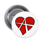 Radical Relations Reckless Heart Anarchy A Love 6 Cm Round Badge