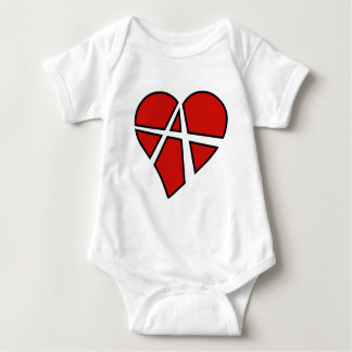 Radical Relations Reckless Heart Anarchy A Love Baby Bodysuit