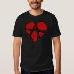Radical Relations Reckless Heart Anarchy A Love Tee Shirts