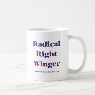 Radical Right Winger Coffee Mugs